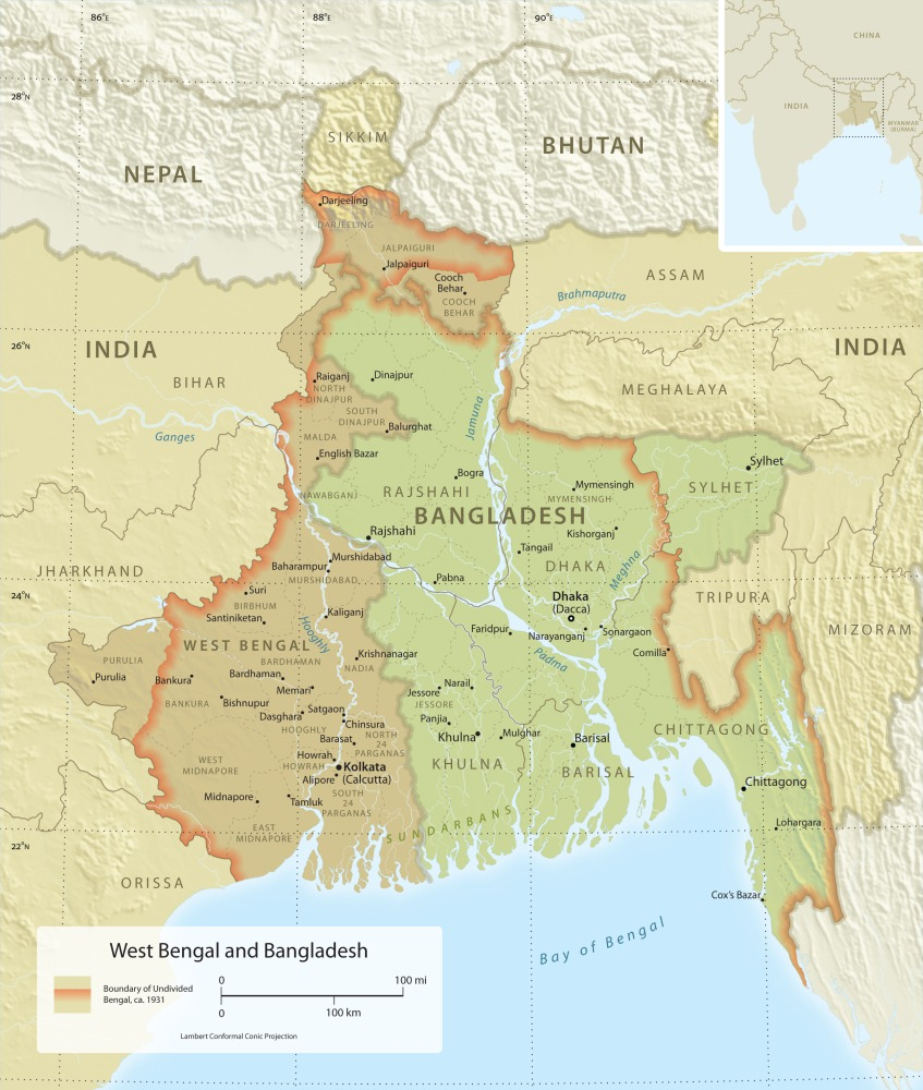west bengal bangladesh comparing essay
