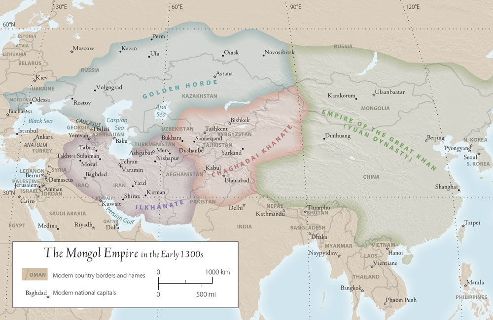 Anandaroop roy islamic teacher resource kit the mongol empire in the early 1300s gumiabroncs Choice Image