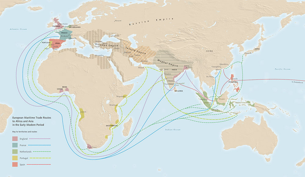 what did europe trade with asia